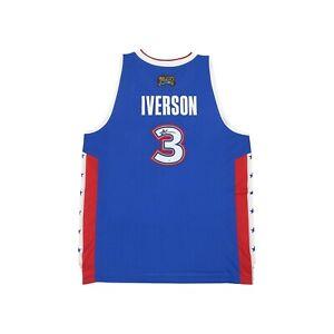 Allen Iverson signed 2005 NBA East All Star Reebok Swingman Blue Jersey JSA