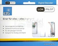 ESU ELECTRONIC 59816 - Decoder LokPilot 5 micro DCC / MM / SX, 6 pin NEM651