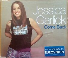 Eurovision UNITED KINGDOM 2002 Jessica Garlick Come Back CD single