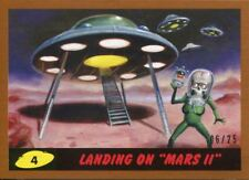 "Mars Attacks The Revenge Bronze [25] Base Card #4 Landing on ""Mars II"""