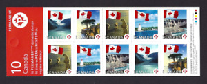 Canada   # BK341   FLAGS OVER CANADA    # 2193a   Brand New 2006 Booklet Issue