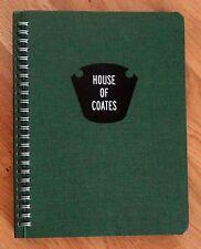SIGNED - ALEC SOTH & BRAD ZELLAR - HOUSE OF COATES - 2012 1ST EDITION - FINE