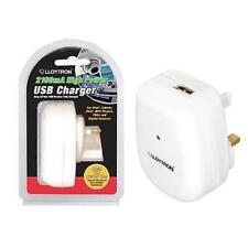 Lloytron A1583 USB Mains Charger Universal Voltage 2100mA High Power iPhone iPad
