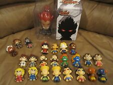 Kidrobot Street Fighter Series 1 Complete Set Of 20 + Exclusive EVIL RYU & More.
