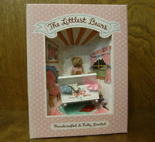 """Littlest Bears by Gund #7017 GIRL PLAYING DRESS-UP, 2.75"""" NEW from Retail Store"""