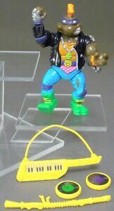 TMNT Rock n' Rollin Punker DON 100% complete NM Teenage Mutant Ninja Turtles