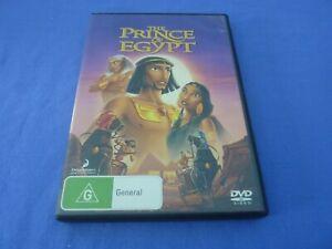 The Prince Of Egypt DVD Val Kilmer Ralph Fiennes Helen Mirren R4 Free Postage