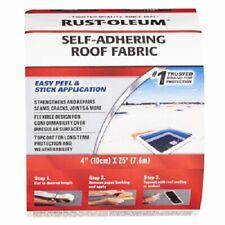 "Rust-Oleum, 4"" x 25', Self Adhering Fabric Roof Tape"
