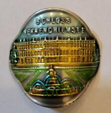 Schloss Herren Chiemsee, Germany Stocknagel, Hiking Medallion, Badge, Pin,GP14-1