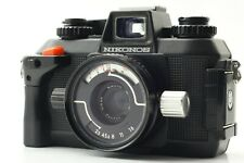 [Exc+++++] Nikon Nikonos IV A Underwater Film Camera Nikkor 35mm F2.5 Lens Japan