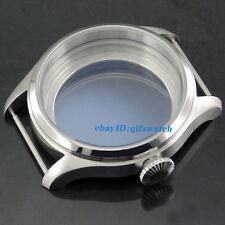 P75 ETA 6497 & 6498 st36 Watch Kit 47mm Parnis Steel Men's Wristwatches Case