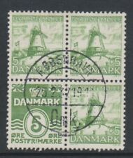 More details for denmark - 1937, 5 ore numeral + lighthouse booklet pane - f/u - sg 268bb
