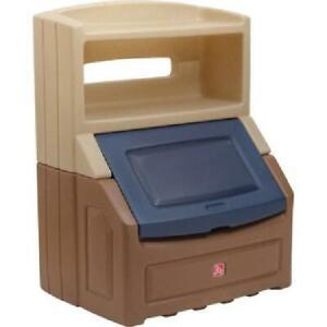 Large Toy Box Storage Chest Bin Bookcase Kids Playroom Organizer Child Furniture