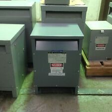 SQUARE D 15T85HIS 15 KVA 3 PHASE 208D - 208Y/120 VOLT TRANSFORMER