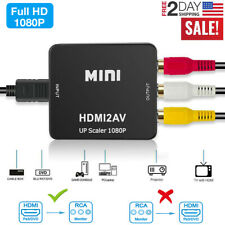 New listing Hdmi To Rca Mini Composite 1080P Audio Video Av Cvbs Adapter Converter For Tv