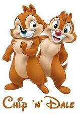 Chip 'n' Dale # 10 - 8 x 10 Tee Shirt Iron On Transfer