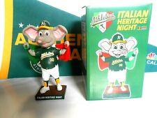 Stomper Italian Heritage Oakland A's Athletics Bobblehead 2019 Special Events