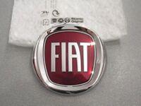 fregio stemma logo GRIGLIA ANTERIORE FIAT TIPO 500X 2019 120mm ORIGINALE emblem