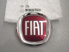 fregio stemma logo GRIGLIA ANTERIORE FIAT 120mm ORIGINALE front emblem bandge