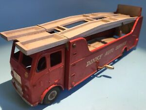 DINKY TOYS VINTAGE 983 CAR CARRIER AUTO SERVICE TRANSPORTER LORRY EXCELLENT RARE