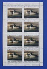 Canada (AWC03) 1997 Atlantic Waterfowl Celebration Stamp Sheet (MNH)