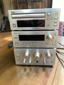 TEAC H300 HI-FI COMBO A-H300  Amplifier/ T-H300  Tuner / PD-H300 C D with leads