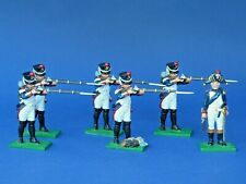 Trophy Miniatures  6 Fusiliers grenadiers - Lead soldier