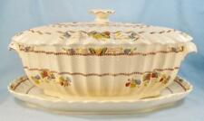 Copeland Spode Cowslip Soup Tureen Covered With Underplate S 713 England Rare O