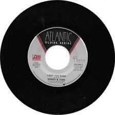 SONNY & CHER - I GOT YOU BABE - ATLANTIC OLDIES - EX.. CONDITION