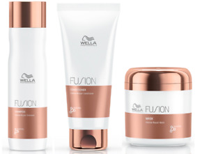 Wella Professionals Fusion Shampoo, Conditioner and Mask Trio Pack - FREE P&P