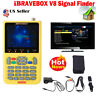 iBRAVEBOX V8 Signal Finder HD 1080P DVB-S/S2 Digital FTA MPEG-4 Satellite Finder