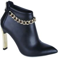 Ladies Versace Arabella Black Ankle Boots UK 6.5 EURO 39.5 Brand New Boxed