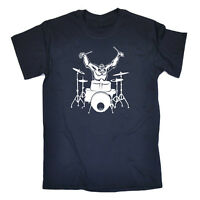 Music Band T-Shirt Funny Novelty Mens tee TShirt - Gorilla Drummer