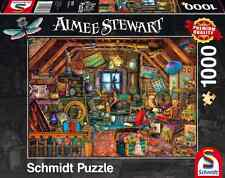 SCHMIDT JIGSAW PUZZLE TREASURES IN THE ATTIC AIMEE STEWART 1000 PCS #59379