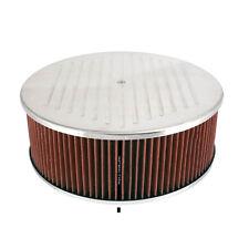 Aluminum Air Cleaner 14 X 5 Ball Milled
