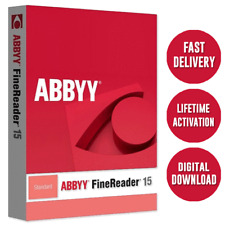 ABBYY FineReader 15-Latest ✅ Multi-language✅ Fast Delivery🔐 LifeTime Activation