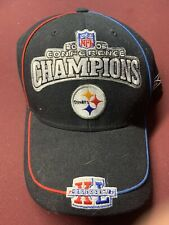 Pittsburgh Steelers 2006 Conference Champion Bear Souvenir Snapback Hat