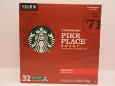 Pike Place Medium Roast Single Cup Coffee for Keurig Brewers, Box of 32 K-Cup