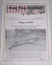 TWA IAM 1650 Base-Line Sentinel Wings of Pride September/October 1994 Newsletter