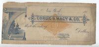 1880s RN G1 2 cents specimen/sample revenue stamped paper [y5563]