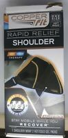 COPPER FIT RAPID RELIEF HOT COLD SHOULDER THERAPY BRACE LEFT/RIGHT NEW