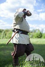 Men's Pants; Linen Pants; Classic Medieval Pants; Size Xxl, Natural color
