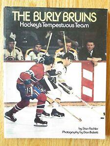 BURLY BRUINS Hockey's Tempestuous Team Book BOBBY ORR PHIL ESPOSITO SANDERSON