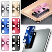 Coque pour Huawei P40 Pro Caméra Protecteur Alliage d'aluminium Téléphone Housse