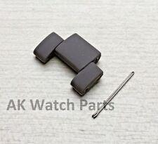 Grey and Black Spare LINK Fits Emporio Armani AR5950 strap/bracelet/band