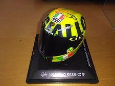 1/5 VALENTINO ROSSI MOTOGP MUGELLO 2016 AGV YAMAHA CASCO HELMET MINT & BOXED