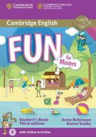 Fun for Movers Student's Book with Audio with Online Activities, Saxby, Karen, R