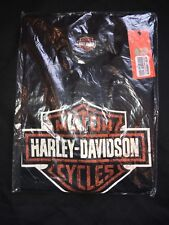 4820402f03ac7 Harley Davidson Women sBlack Distressed Graphic Glitter Tee 99192-13VW Size  001W