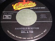 Mel & Tim: Backfield In Motion / Fendermen: Mule Skinner Blues 45