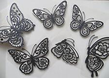 Glitter Vynl Card3D Butterfly Wall Stickers,Wall Decors,Wall Art,Wall Decoration